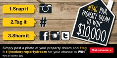 Post a photo of your dream home, use hashtag #ljhookerpropertydream for your chance to WIN $10,000. Post by instagram or facebook, entries close 29/02/16. Judging is by LJ Hooker on 02/03/16. #ljhooker #win #ljhookerpropertydream #ljhookerkensington #ljhookerunley