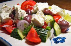 Blond Kitchen: Kreikkalainen salaatti Samokselta
