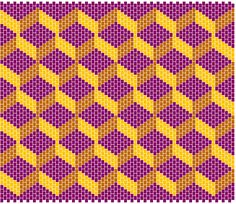 Free Bargello Patterns | Geoceleste - ibead
