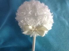 nice Lollipop body powder puff shaggy dusting powder puff with handle ivory - For Sale View more at http://shipperscentral.com/wp/product/lollipop-body-powder-puff-shaggy-dusting-powder-puff-with-handle-ivory-for-sale/