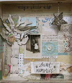 Image result for collage shadowboxes