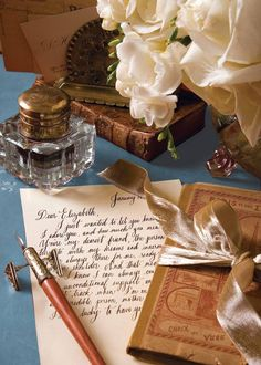 Handwritten letters- a lost art Victoria Magazine, Old Letters, Handwritten Letters, Lost Art, Letter Writing, Mail Art, Wax Seals, Envelopes, Hand Lettering