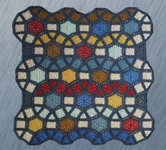 Ravelry: Project Gallery for Grow Your Molecule Blanket pattern by Elena Fedotova