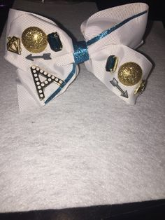 Initial Junk Bow (All bows and headbands are custom made and inspired by my daughters)