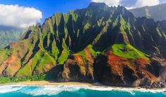 "Most Romantic Getaways - Kauai. A trek along the dramatic trails of Waimea Canyon National Park, dubbed ""the Grand Canyon of the Pacific;"" a boat ride alongside the Na Pali Coast (you may recognize these dramatic, otherworldly cliffs from their appearance in Jurassic Park). Unwind with a couples massage beneath the shade of a thatched roof bungalow at the Grand Hyatt Kauai'"
