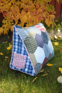 Sew Me Something Good: The 'Manly' Reading Pillow