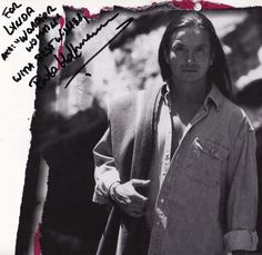 Actor Pato Hoffmann. Calendar (1998) for charity. With his dedication and signature. Photographed by Sara Humes.