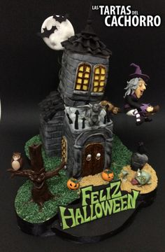 Haunted House Cake - Cake by Las tartas del Cachorro by Daniel Casero
