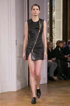 A look from the Bouchra Jarrar Spring 2015 Couture collection.