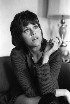 Jane Fonda,  Richard Kalvar