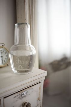 Bon Nuit Set from Cox & Cox. A lovely touch for a guest room or just an everyday treat.