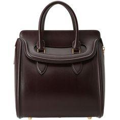 Alexander McQueen - Heroine Medium (Oxblood) Satchel Handbags