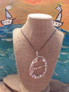 The Sabrina Unique whimsical pearl pendant a by pocketfullofshellz, $46.99