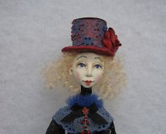 Susana  Art doll- OOAK doll- Paper clay doll- Handmade doll-Air dry clay doll- Collecting doll