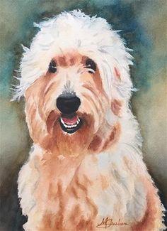 "Daily Paintworks - ""Campbell"" - Original Fine Art for Sale - © Melissa Gresham"
