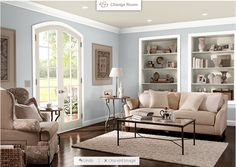 Mocha White Paint Behr Preview Of Room