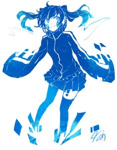 Hatsune Miku, Emo Anime Girl, Kagerou Project, Manga Games, Kawaii Anime, Actors, Cool Art, Anime Art, Character Design
