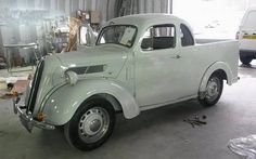 Rare Ford Popular Ute from Australia For Sale Very rare Ford Pop Ute from Australia recently imported to the UK, this 1955 ute has had a new inter Vintage Cars, Antique Cars, Ford Anglia, Australian Cars, Mini Bus, Ford Classic Cars, Hot Rides, Old Trucks, Camper Van