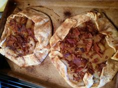 Apple Bacon Crostada
