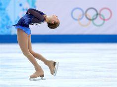 Sochi 2014 Day 2 - Figure Skating Team Ladies' Short Program,,Blue Figure Skating / Ice Skating dress inspiration for Sk8 Gr8 Designs