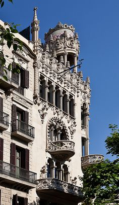 Casa Lleó Morera, Barcelona, Catalonia