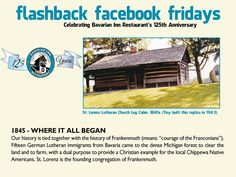 Each week during 2013, we will feature a flashback photo and share our history. Please share these weekly postings with your friends and family and join us in celebrating our 125th anniversary.