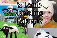 Sheep and Lamb Knitting Patterns