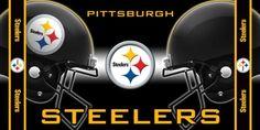 NFL Pittsburgh Steelers Fiber Reactive Beach Towel $17.58