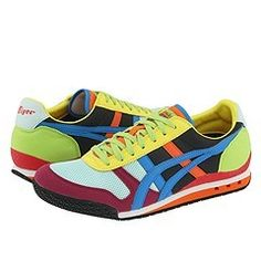 Onitsuka Tiger by Asics Ultimate 81  Rainbow/Blue - these ones actually ladies.