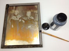 Tutorial: Make a Faux Daguerreotype » Dollar Store Crafts