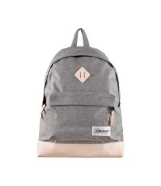 classic backpack - grey by eastpak x a.p.c.