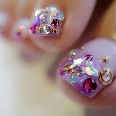 Pretty Toe Nails, Pretty Toes, Love Nails, How To Do Nails, Chic Nail Designs, Pedicure Designs, Toe Nail Designs, Chic Nails, Classy Nails