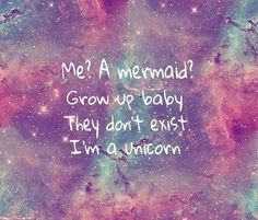 Sayings Cool Unicorn Mermaid Quotes …