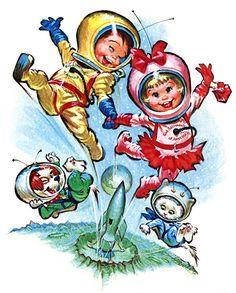 Plan59 :: 1950s Illustration :: Pete Hawley, 1960