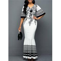 Latest African Fashion Dresses, Women's Fashion Dresses, Dress Outfits, Half Sleeve Dresses, Maxi Dress With Sleeves, Half Sleeves, Short Sleeves, Xhosa Attire, Frack