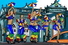 desenhos de capoeira coloridos - Pesquisa Google