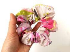 Un originale elastico per capelli con il riciclo creativo | Tutorial