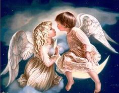 Angel Baby Needlework Diy Diamond Painting Cross Stitch Square Diamond Embroidery Home Christmas Decoration Diamond Mosaic Angel Pictures, Girl Pictures, Baby Engel, Angel Kisses, I Believe In Angels, Angels Among Us, Landscape Walls, Landscape Mode, 5d Diamond Painting