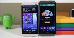 New HTC One shown side-by-side with original model in extensive comparison video