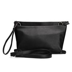 Women Pure Color PU Leather Clutch Bag  - Gchoic.com