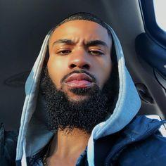 Image about men in Black King Things. Cute Black Guys, Gorgeous Black Men, Beautiful Men Faces, Black Boys, Cute Guys, Fine Black Men, Handsome Black Men, Fine Men, Dark Man