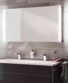 Badspiegel Mit Steckdose Und Beleuchtung villeroy boch finion led spiegel mit indirekter beleuchtung