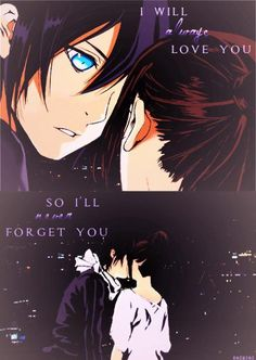 #noragami Yato and Hiyori - AHH! People make these things and I don't know if they're real or not! :'(
