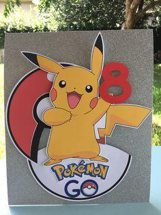 Pokemon Go Pokemon Go Party Pokemon Party by GlitterChickParty Pokemon Themed Party, Pokemon Birthday, Pokemon Go, Pikachu, 6th Birthday Parties, 8th Birthday, Pokemon Party Decorations, Kids Party Themes, Party Ideas