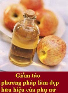 Cách làm đẹp da mặt bằng giấm táo - Blog sưu tầm