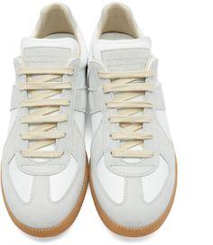 Maison Margiela - White Replica Sneakers