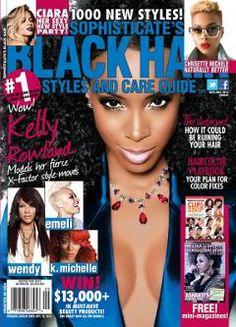 Sophisticate's Black Hair Styles Black Hair Magazine, Curly Hair Styles, Natural Hair Styles, Hype Hair, Layered Hair, Bad Hair, Her Style, Naturally Curly, How To Look Pretty