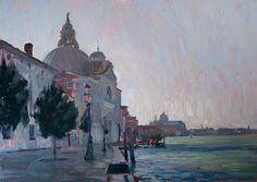 Zitelle Venezia Le Zitelle, Venise. 25 x 35 cm, huile sur panneau.