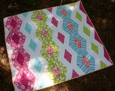 Princess Kate Diamond Quilt free Pattern