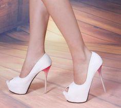 Endless Love Peep-Toe Heels - Woman's heaven